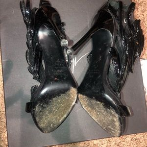 Giuseppe Zanotti Shoes - Giuseppe Zanotti Black wing sandals
